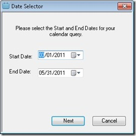 Calendar Analytics for Excel 2010 (3/6)