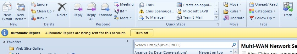how to create automatic reply in outlook 2010