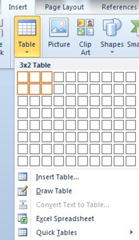 How To Create A Chart In Word From Your Data That Is In A Table