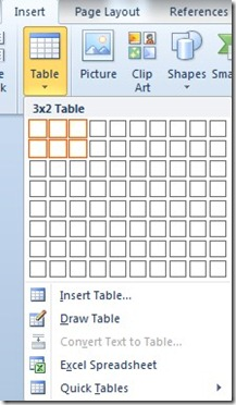 How To Create A Chart In Word From Your Data That Is In A Table (1/6)