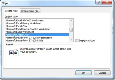 How To Create A Chart In Word From Your Data That Is In A Table (4/6)
