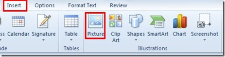 How to Insert an Image Inline in an Email with Outlook (2/6)