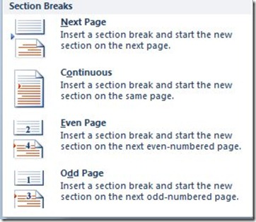 how to remove section break in word file
