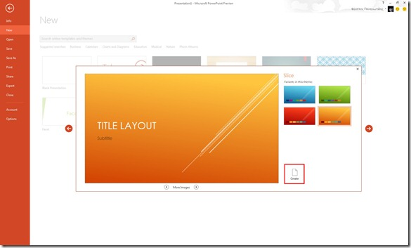 Variant Themes in PowerPoint 13 (3/4)