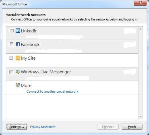 how to connect multiple accounts in outlook