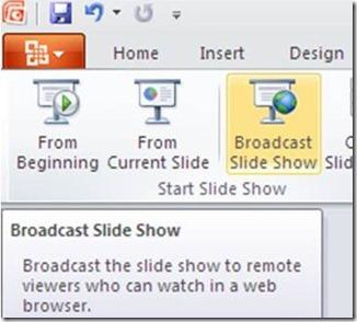 Broadcast Slide Show