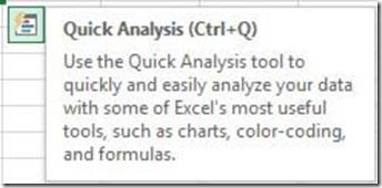 Quick Analysis Tool