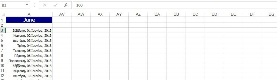 Locking Columns And Rows In Excel 13 Officesmart