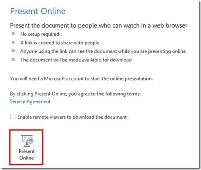 Present Online
