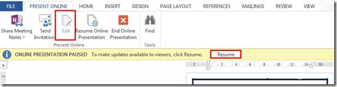 Edit - Resume Online Presentation