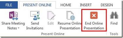 End Online Presentation