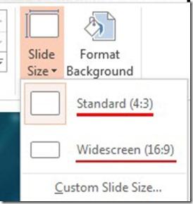Standard - Widescreen