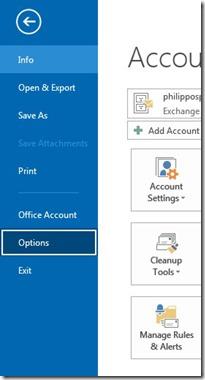 File - Options - Advanced
