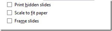 Print Hidden Slides