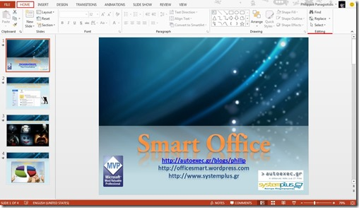 Replace Fonts In PowerPoint 13 (1/4)