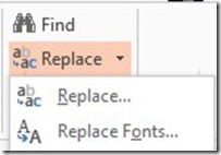 Replace Fonts