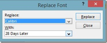 Replace Fonts In PowerPoint 13 (3/4)