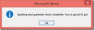 how to take out proofing changes on word document