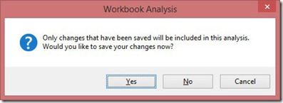 Workbook Analysis