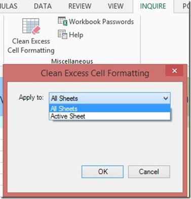 Clean Excess Cell Formatting