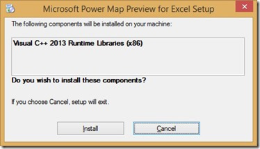Microsoft Power Map Preview