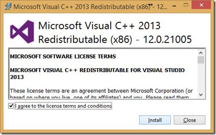 Microsoft Visual C++ 2013