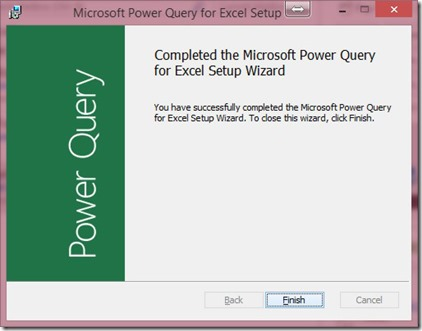 Power Query Wizard