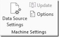 Machine Settings