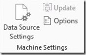 Machine Settings