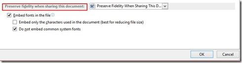 Preserve Fidelity