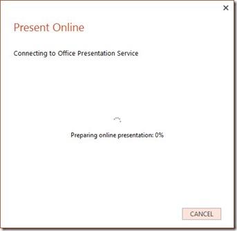 Present Online Preparation