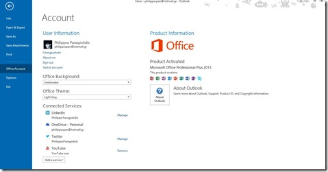 Account Outlook 13