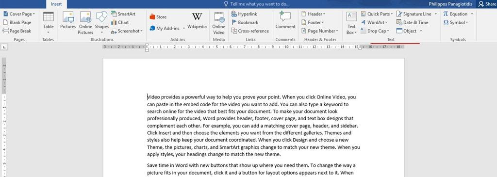 Insert A Drop Cap In Word Officesmart