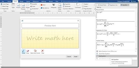 Write Math Here