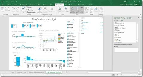 Power View - Example Worksheet