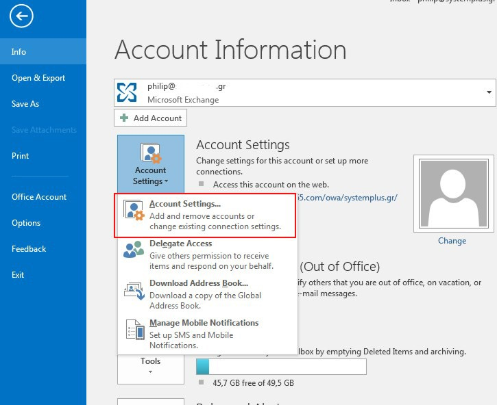 How To Add Multiple Accounts In Outlook 2016 Officesmart