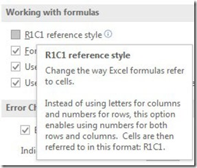 R1 C1 Reference Style