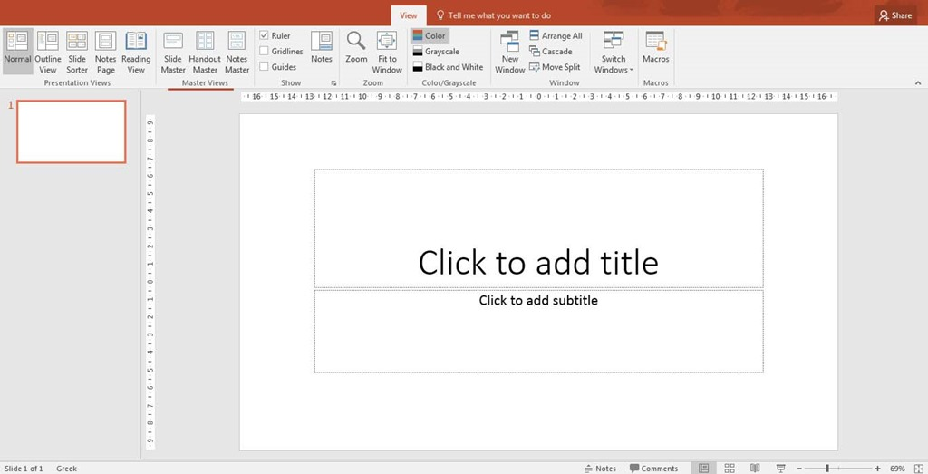create a theme in powerpoint