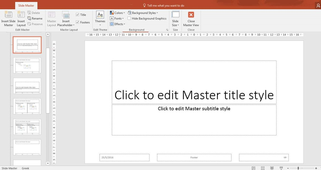 create your own theme in powerpoint 2016 | officesmart, Powerpoint templates