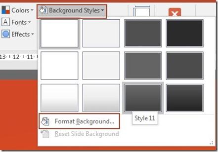 Background Styles