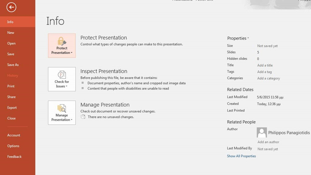 How To Protect A Powerpoint 2016 Presentation Officesmart
