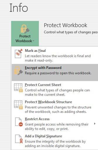 how to unlock workbook in excel 2016