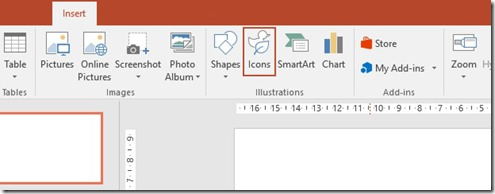 Insert Icons In PowerPoint 365