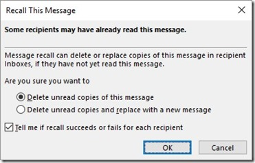 Recall This Message