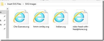 SVG File Types