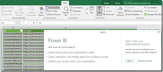 Power BI - Sign In