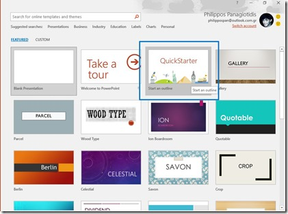 PowerPoint QuickStarter