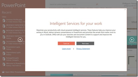Intelligent Services For Your Work