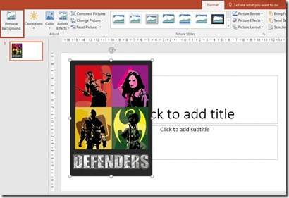 Remove Background - PowerPoint