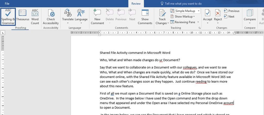Editor Pane In Microsoft Word and Outlook 365 | officesmart
